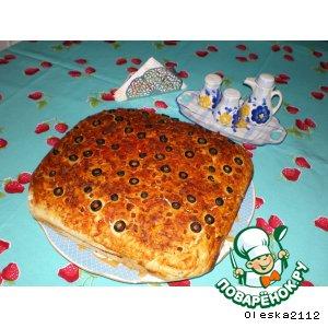 Рецепт Хлеб по-средиземноморски