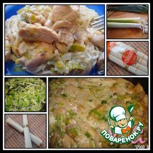 Рецепт Куриное филе в сливочно-горчичном соусе