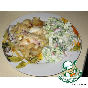 Рецепт Картошечка под соусом