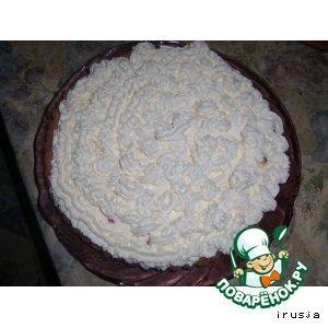 Рецепт Фруктовый тортик на скорую руку