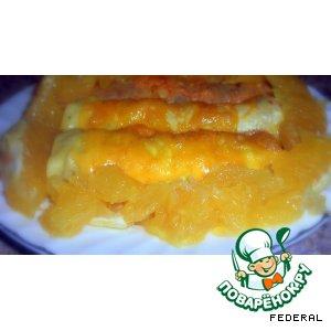 Рецепт Бризоли с апельсиновым соусом