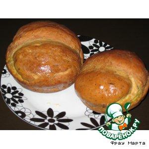Рецепт Чесночный хлеб с зеленью