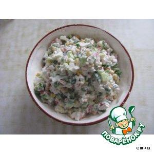 Рецепт Крабовый салатик