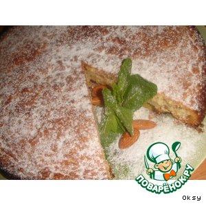Рецепт Бельгийский миндальный пирог