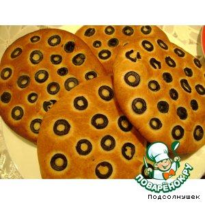 Рецепт Фокачча с маслинами и розмарином