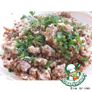 Рецепт Любимая гречка с нежным мясом