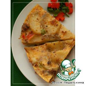 Рецепт Картофельная тортилья с тунцом