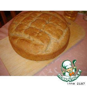 Рецепт Хлеб ароматный с кунжутом