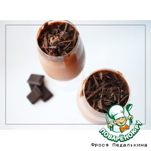 Рецепт Шоколадный мусс с коньяком
