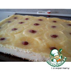 Рецепт Гавайский сырный пирог