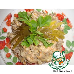 Рецепт Салат из печенки