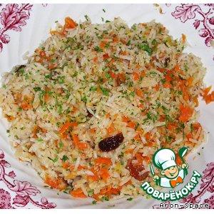 "Рецепт: Рис ""Гаджар Пулау"""