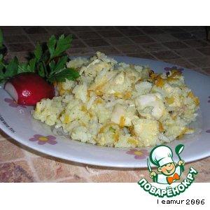 Рецепт Плов с натяжкой или рисовая кашка ; -)