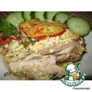Рецепт Куриные окорочка в сметанном соусе