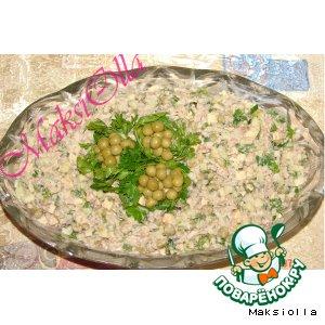 Рецепт Шпротный салат №1