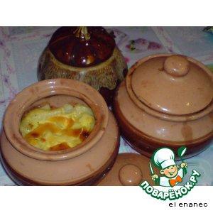 Рецепт Куриная печень и пупки с картофелем