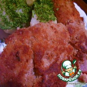 Рецепт Рыбка в ореховой корочке