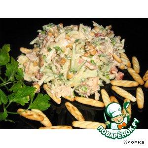 Рецепт Салат с крекером