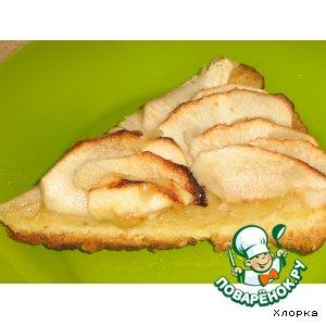 Рецепт Яблочно-карамельный пирог