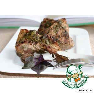 Рецепт Баранья корейка с травами