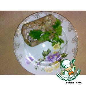 Рецепт Холодец-молодец порционный