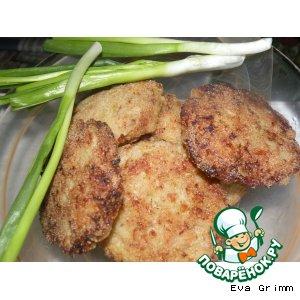"""Рецепт Капустно-куриные """"пироги"""" с яичной начинкой"""