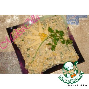 Рецепт Шпротный салат №2