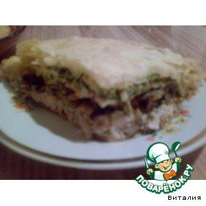 Рецепт Многослойный пирог