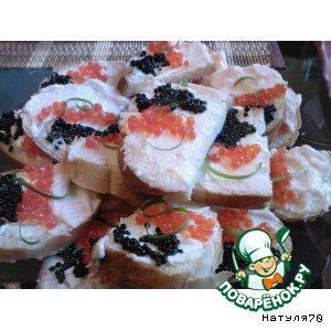 Рецепт Закусочные бутерброды