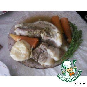 Рецепт Бочок с овощами