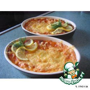 Рецепт Пирог рыбный по-милански