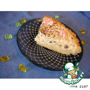 Как приготовить простой рецепт с фотографиями Творожный пирог с орехами