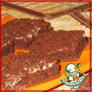 """Рецепт Печенье орехово-шоколадное """"Черная метка"""""""