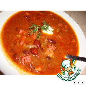Рецепт: Фасолевый суп