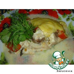 Рецепт Запеченная рыбка по-итальянски