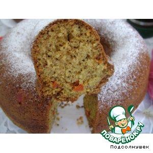 Рецепт Кекс с сухофруктами
