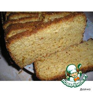 Рецепт Кукурузный луковый хлеб