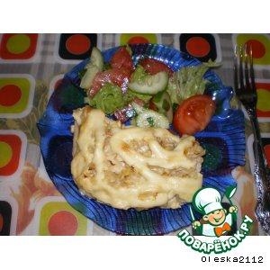 Рецепт Рыбное филе в майонезе