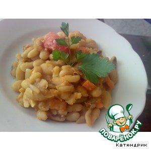 Как приготовить Фасоль по-домашнему в томатном соусе вкусный рецепт с фото