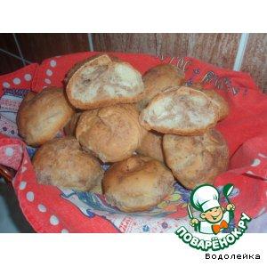 Рецепт Пшенично-ржаные булочки