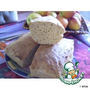 Рецепт Домашний хлебушек с овсяными хлопьями
