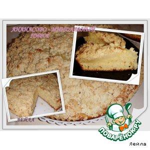 Рецепт Ананасово-миндальный пирог