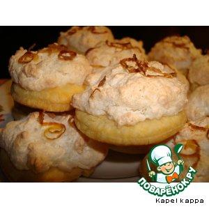 Рецепт Печенье лимонно-кокосовое
