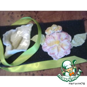 Рецепт Филиппинская сахарная мастика