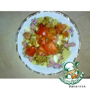 Рецепт Сытный Завтрак #2