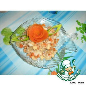 Рецепт Рыбный салатик