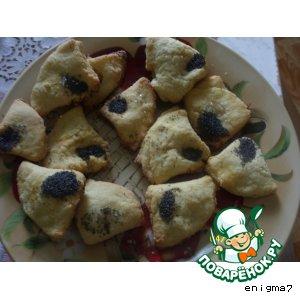Рецепт Творожные печенье с манкой