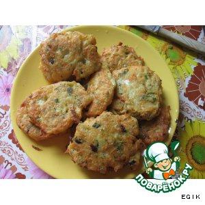 Рецепт Овощные лепешки на кефире