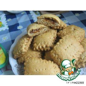 Рецепт Медовые пряники с начинкой (вариант)