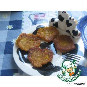 Рецепт Морковно-яблочные оладушки